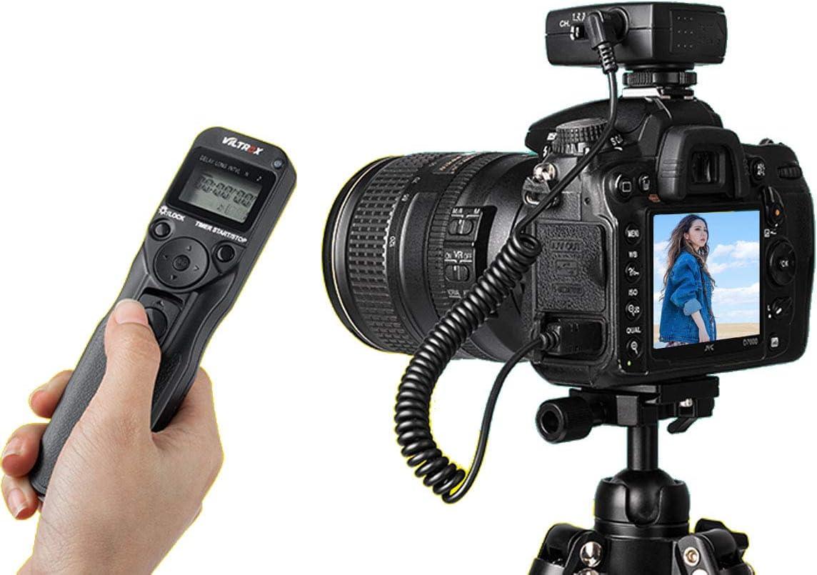 BOTTMA New Wireless Remote Shutter Controller JY-710 Set Time Lapse Intervalometer Timer Shutter Release Digital Timer Remote Controller with E2 Cable for Olympus E-400 E-30 E-410 E-420 E-510 E-520