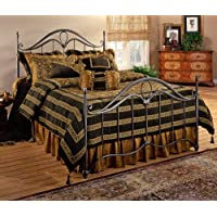 Hillsdale Furniture 1290BFR Kendall Bed Set with Rails, Full, Bronze