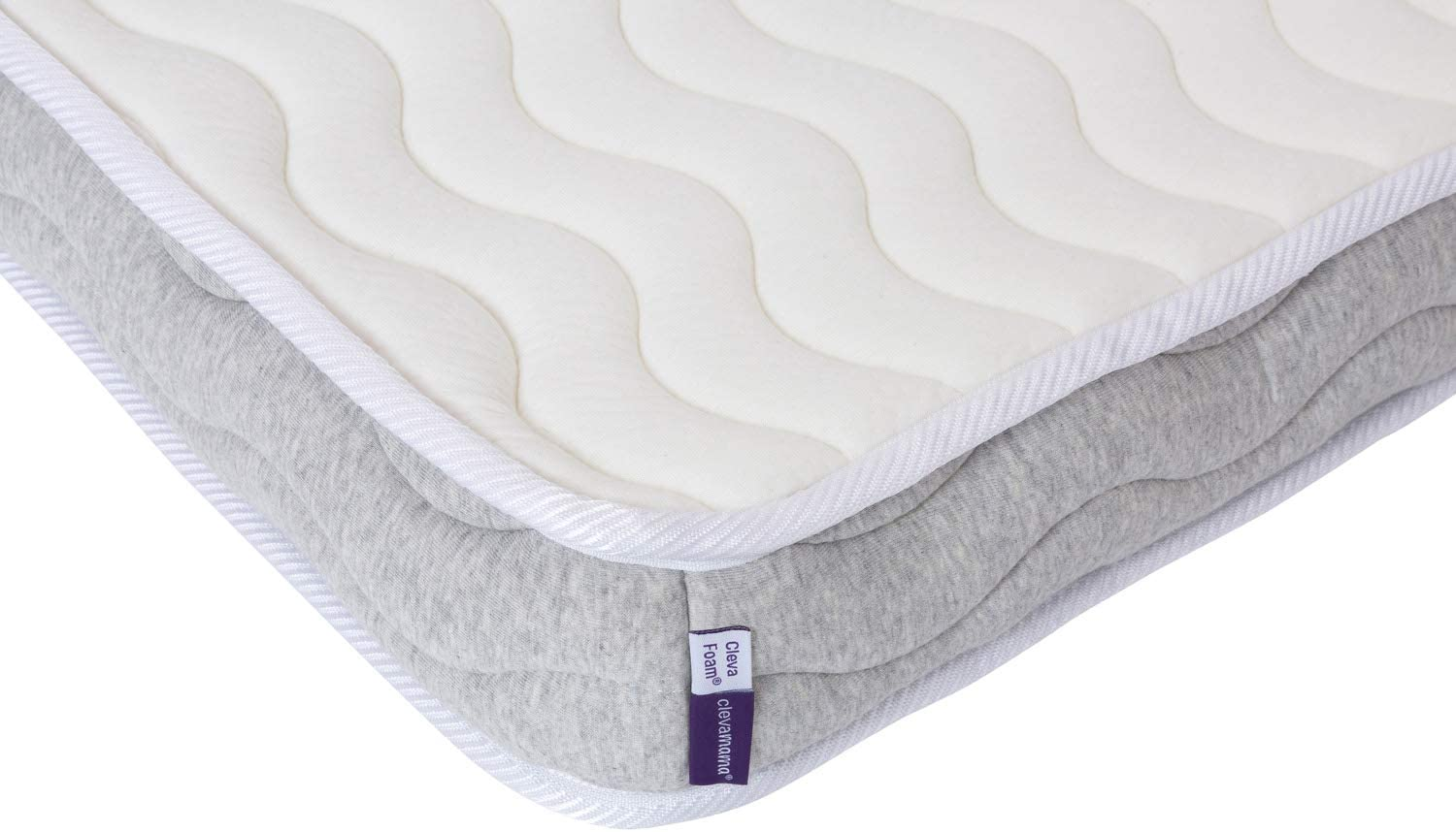 Clevamama Pocket Sprung Cot Mattress 60 x 120 cm