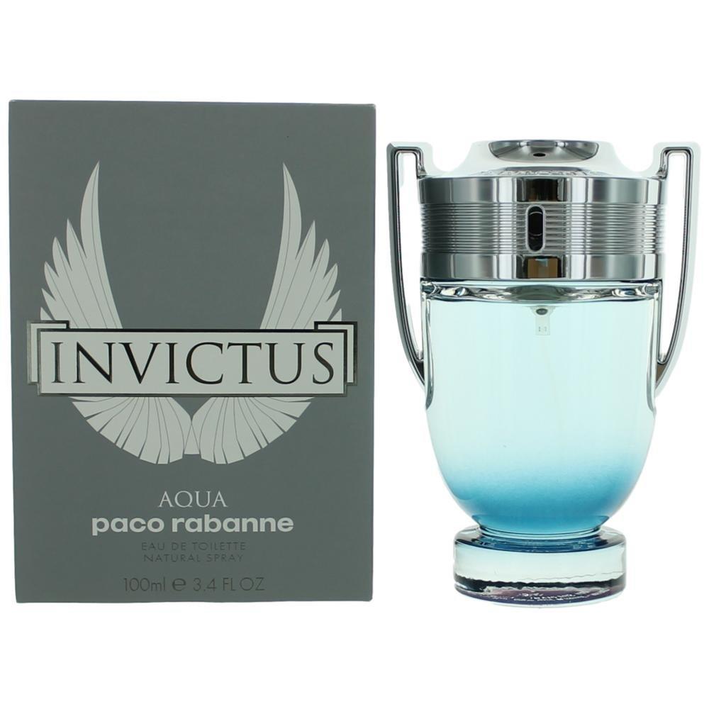 Paco Rabanne Invictus Aqua Eau de Toilette Spray, 3.4 Ounce Universal Perfumes 17462