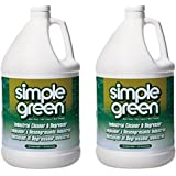 Simple Green 13005CT Industrial Cleaner and Degreaser, Concentrated, 1 Gal Bottle (2, 2 Gallons)