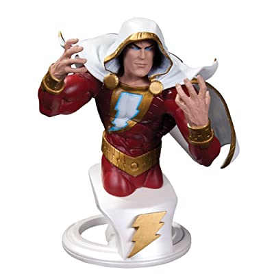 DC Collectibles Comics Super Heroes: Shazam Bust: Toys & Games