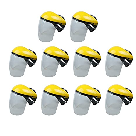 B Blesiya Escudo Facial Máscara Protectora para Soldadura Herramientas Manuales Eléctrica Parte Trabajo
