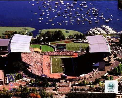 NCAA Husky Stadium University of Washington Huskies Photo 8x10