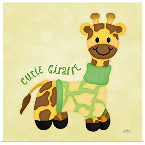 c950691bd38d Amazon.com  GREATBIGCANVAS Poster Print Entitled Baby Safari I by ...