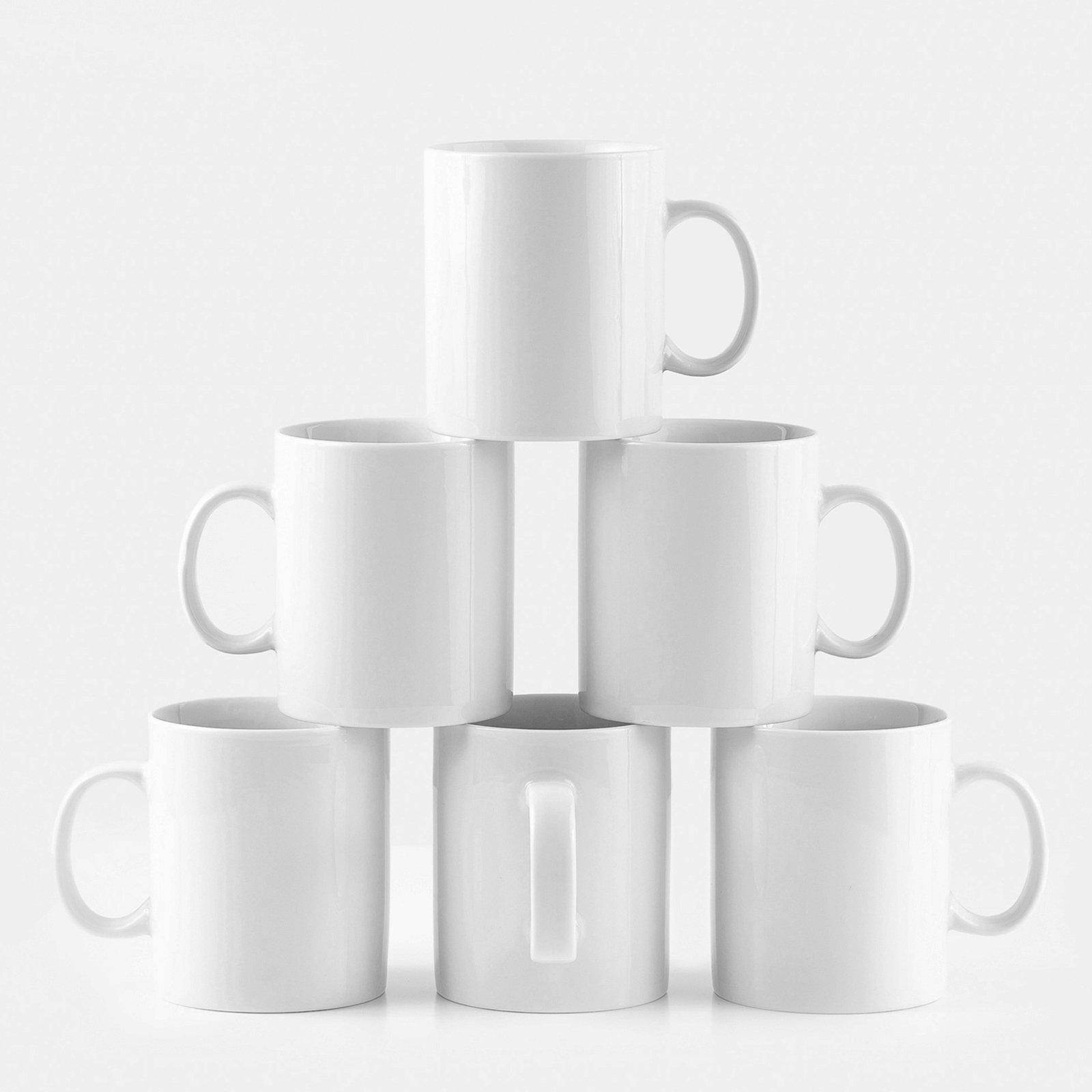 Amuse- Professional Barista Large Mug- Set of 6- 16 oz.