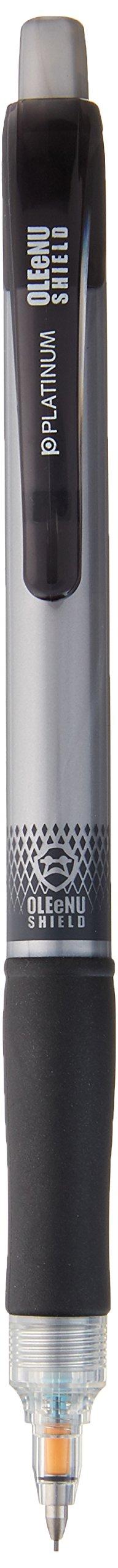 Platinum lápiz mecánico oleenu Shield, color plata