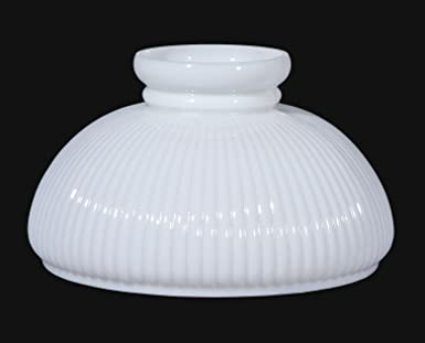 Bp lamp 10 opal glass student shade low top amazon bp lamp 10quot opal glass student shade aloadofball Image collections