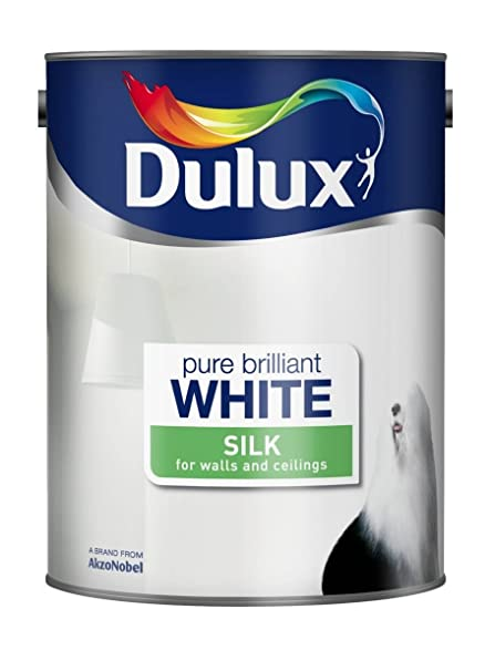 Dulux Trade Vinyl Soft Sheen Paint Brilliant White L