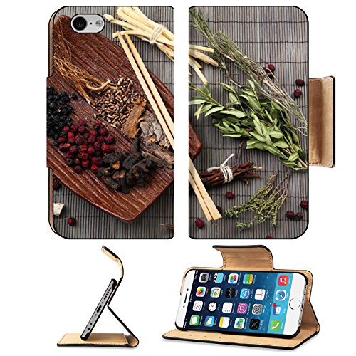 Liili Premium Apple iPhone 6 iPhone 6S Flip Pu Leather Wallet Case IMAGE ID 31956062 Traditional chinese medicine ingredients close up