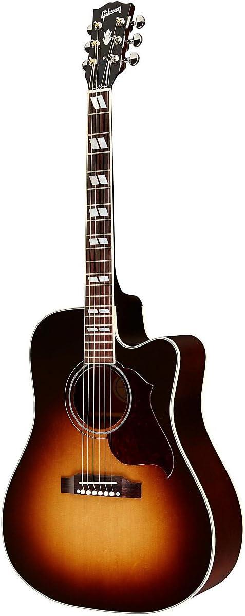 Gibson colibrí PRO Cutaway Guitarra Electroacústica: Amazon.es ...