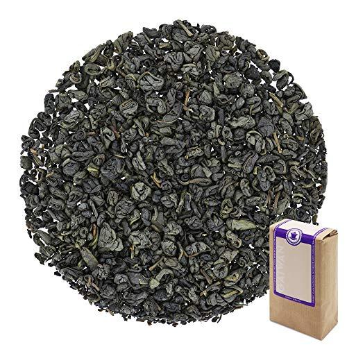 Num 1334 Te verde organico Gunpowder Pinhead (cabeza de alfiler de polvora) - hojas sueltas ecologico - 500 g - GAIWAN GERMANY - te verde de la agricultura ecologica en China
