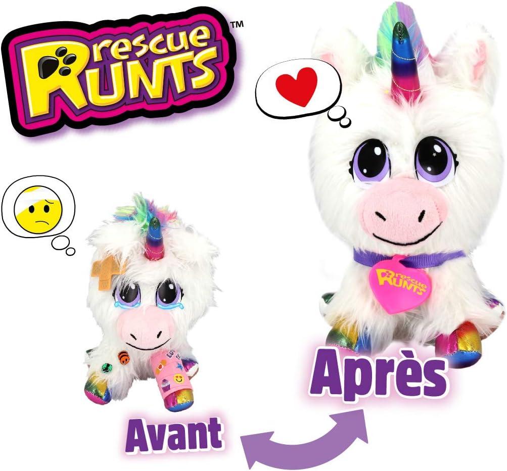 Rescue Runts S19016 - Peluche de Funcionamiento, Color Blanco: Amazon.es: Juguetes y juegos