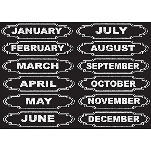 - Ashley Productions Months of The Year Die-Cut Magnets