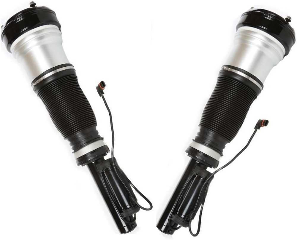 AutoShack KAS234M29FPR Pair of Front Air Struts 2 Pieces Fits Driver and Passenger Side
