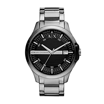 2ae85c552d4 Amazon.com  Armani Exchange Men s AX2103 Silver Watch  Armani ...