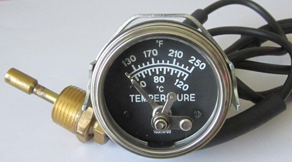 Veethree 57302 Temperature Switch Gauge 4 ft Capillary Indication Instruments Ltd