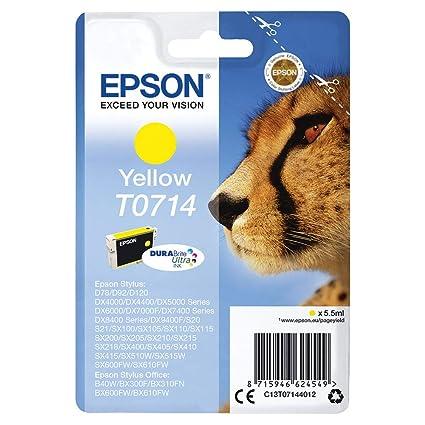 Epson C13T07144011 - Cartucho de Tinta para Stylus D78/DX40, color ...
