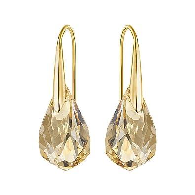 3da97c8698f4 Amazon.com  Swarovski Golden Energic Earrings  Jewelry