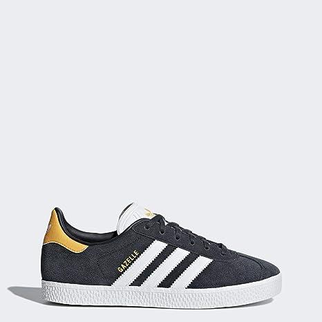 lowest price 7fbf5 c3208 Adidas Gazelle J, Chaussures de Fitness Mixte Enfant, Gris (CarbonFtwbla