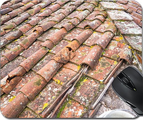 Tuscan Roof Tile (MSD Mousepad Mouse Pads/Mat design 24755031 Tuscan clay roof tiles)