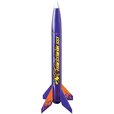 Estes 806 Firestreak SST Flying Model Rocket Kit: Toys & Games