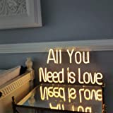 All You Need is Love LED Neon Sign Lights