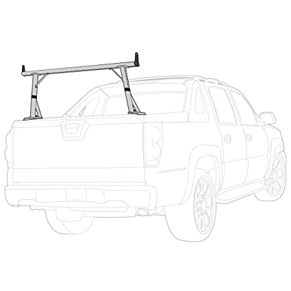 Amazon Com Vantech 1 Bar Ladder Rack With Side Supports For
