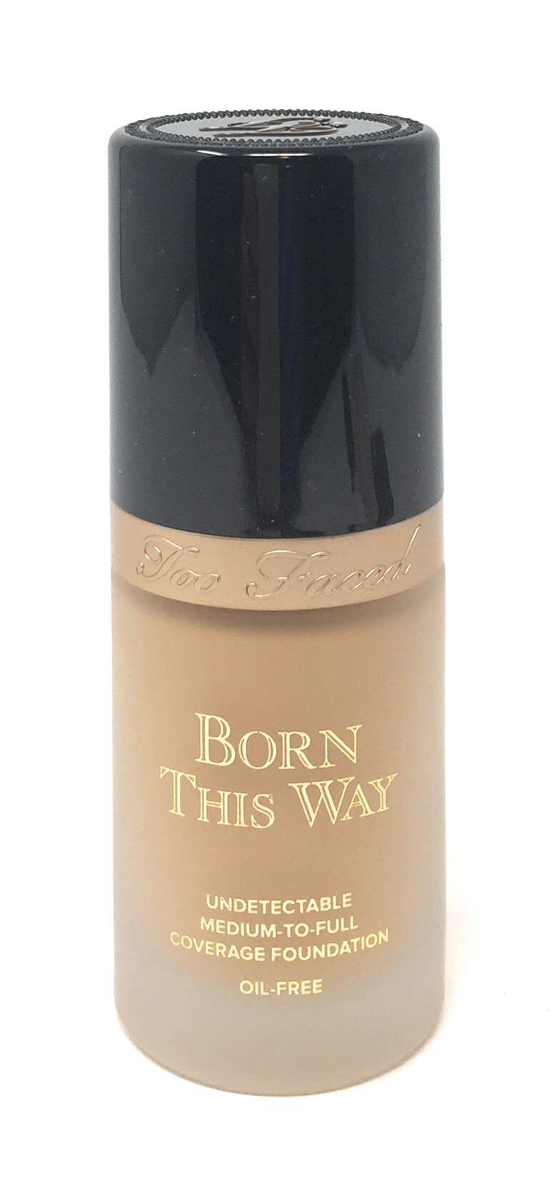 Too Faced Born This Way Medium-to-Full Coverage Foundation in Light Beige 1 OZ by Too Faced