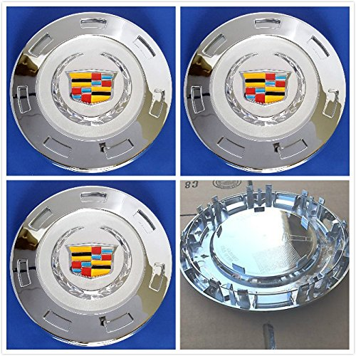 Set Center Cap Hubcap - Gosweet 4X Brand NEW Set of 4 Pieces 200mm Hubcaps CHROME Wheel center caps hubcaps For 2007-2014 CADILLAC ESCALADE 22