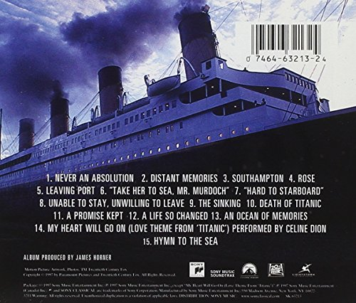 titanic music from the motion picture for 273