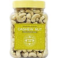 FreshoGen Cashew Nut Kerala Origin Premium Whole Kaju Plain & Raw Cashew Nut (500 Grams)