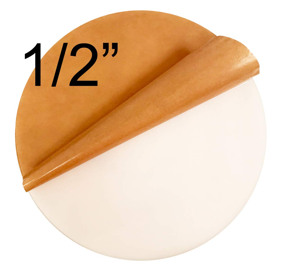Click for More Colors and Sizes 10.5 Diameter, 1//2 Thick Clear Acrylicblank Clear Acrylic Circle Disc