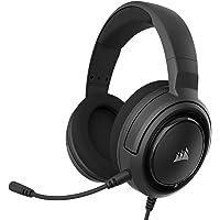 Corsair HS35 Stereo Gaming Headset (50 mm Neodymium luidsprekers, afneembare unidirectionele microfoon, Vederlicht…