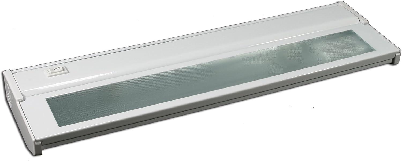 American Lighting Lxc2h Wh Hardwire Xenon Under Cabinet Light 40 Watt High Low Switch 120 Volt 16 Inch White Under Counter Lighting Strips Amazon Com