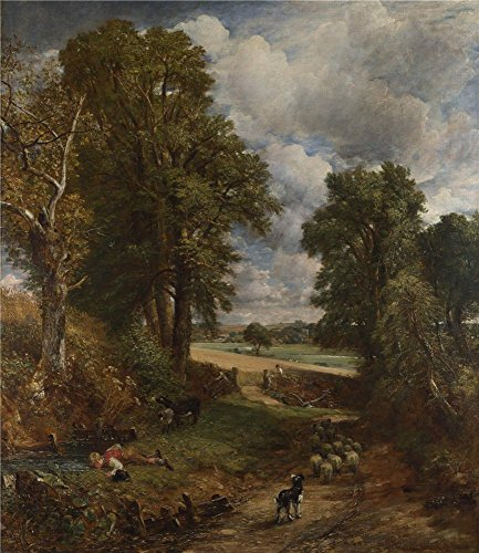 [Oil Painting 'John Constable The Cornfield ' Printing On Polyster Canvas , 24 X 28 Inch / 61 X 70 Cm ,the Best Kitchen Gallery Art And Home Artwork And Gifts Is This Cheap But High Quality Art Decorative Art Decorative Canvas] (King Triton Costume Ideas)