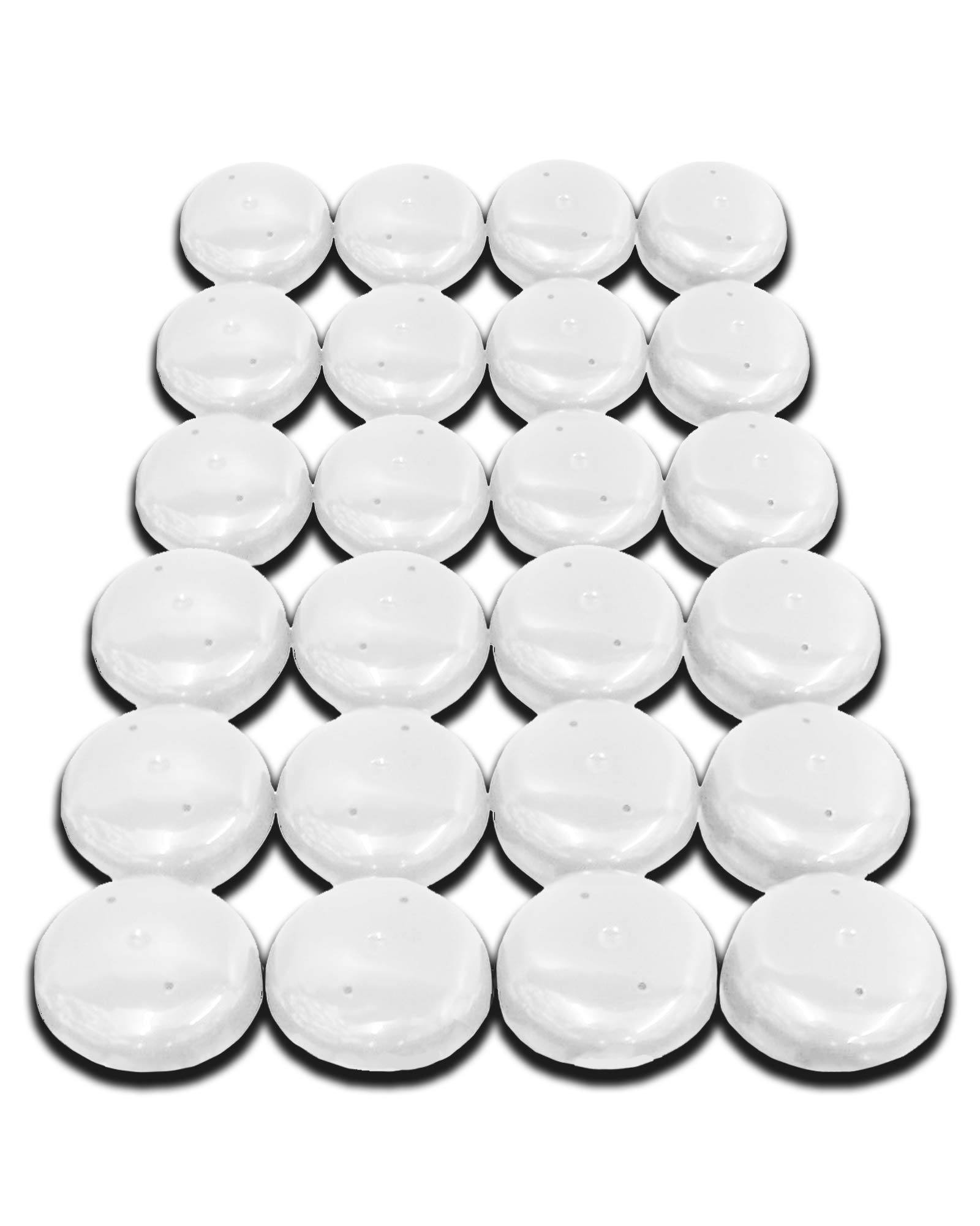 Astounding Galleon 24 Pcs 1 5 White Plastic Snap On Chair Clide Leg Download Free Architecture Designs Jebrpmadebymaigaardcom