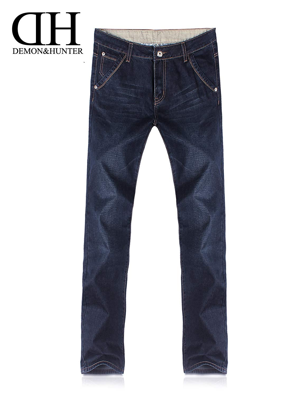 Demon/&Hunter 809 Relaxed Series Mens Loose Fit Relaxed Jeans