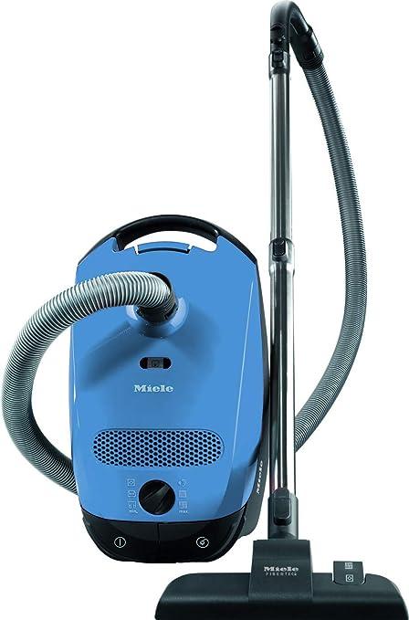 Miele Classic C1 Junior Ecoline Aspirapolvere, 550 watts, 4.5 litri, 78 decibels, Blu