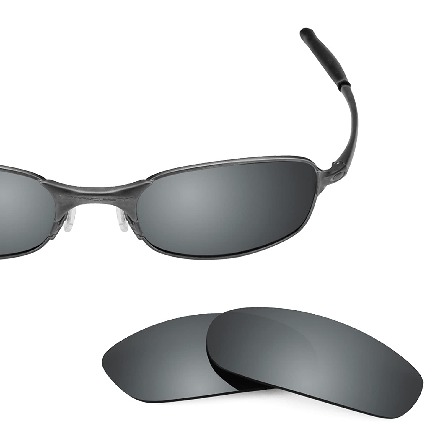 oakley square wire lenses