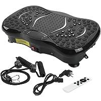 Zogin 3D Vibrationsplatte Vibrationsgerät Fitness Vibration Plate Ganzkörper Trainingsgerät mit Bluetooth Lautsprecher, Trainingsbänder, LCD Anzeige und Fernbedienung