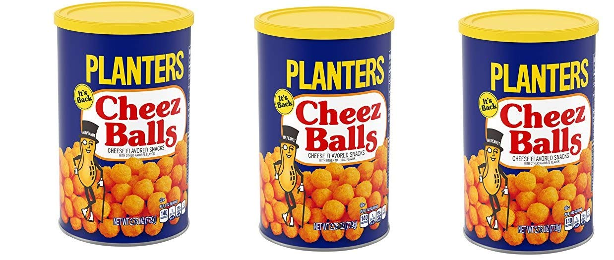 Cheez Balls, 2.75 Ounce, 12 Canisters