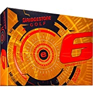 Bridgestone e6 Straight Flight Orange Golf Balls