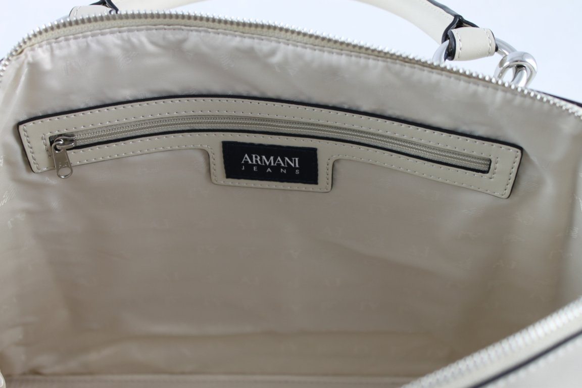 Tasche Henkeltasche Shopper Bag 922575 (creme) Armani Jeans M2ceUOH