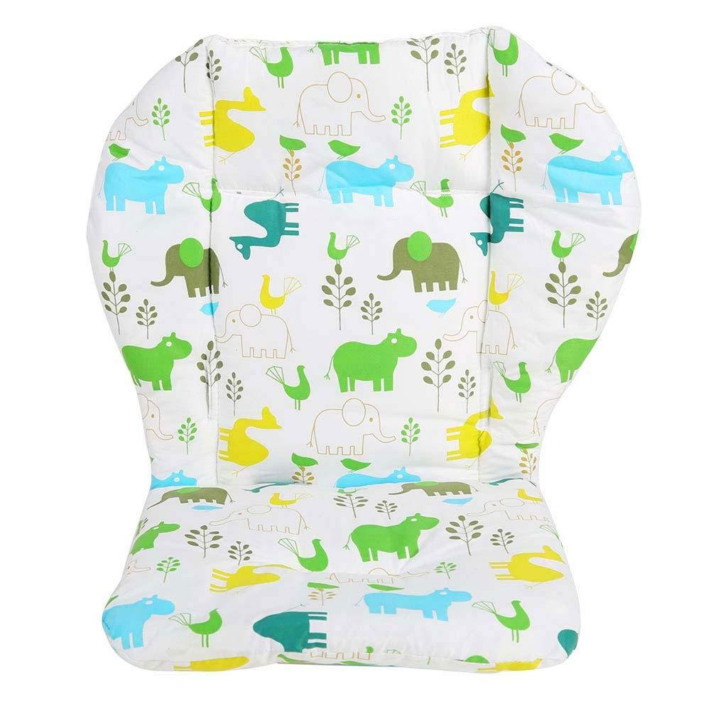 Demiawaking Baby Stroller Car Pram Seat Cushion Liner Thick Cotton Animal Pattern Pushchair Buggy Cushion Pad Mat DemiawakingUK