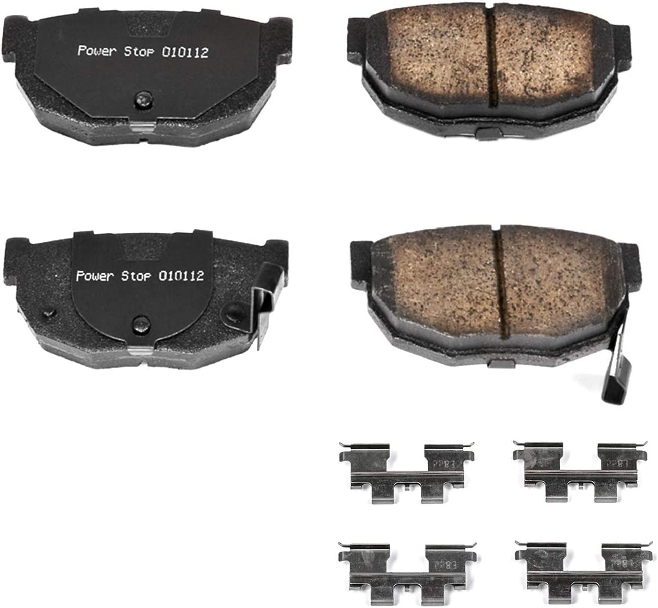 Power Stop 17-323 Z17 Evolution Plus Brake Pad