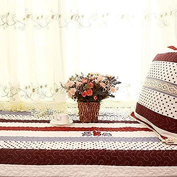 GX AI YY New Day®-Almohadilla Flotante Ventana no - Deslizamiento de algodón tapete Ventana de Tela cojín del sofá, 90 * 240cm: Amazon.es: Hogar