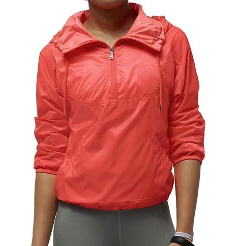 57e8f3e9d3ce Amazon.com   Nike Women s Track and Field Summerized Running Jacket ...