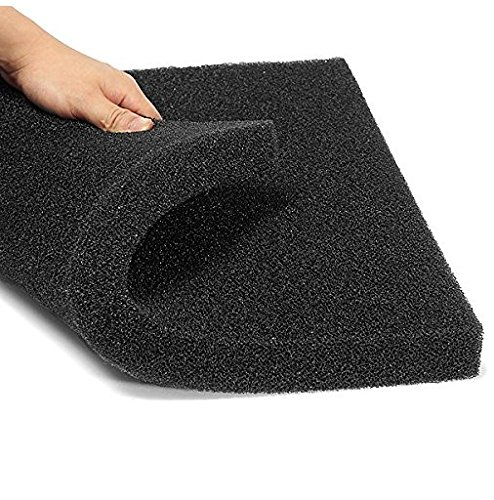 Aquarium Biochemical Cotton Filter Foam Fish Tank Sponge 50x50x2.5cm by liannmarketing