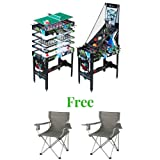 "MD Sports New Multi-Game Combo Table 48"", 12 in 1"